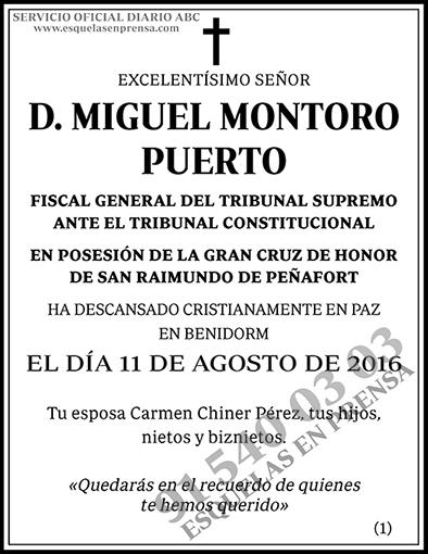 Miguel Montoro Puerto